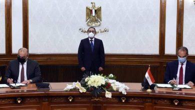 صورة رئيس الوزراء يعرب عن سعادته بالتعاون بين مصر والعراق .. ويشهد توقيع مذكرة تفاهم في مجال الإتصالات