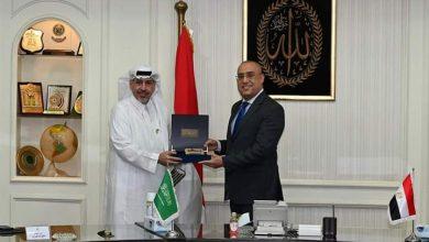صورة وزير الإسكان يلتقى العامرى ومستثمرين سعوديين لبحث فرص التعاون المشترك وعرض الفرص الاستثمارية