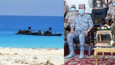 """صورة ختام فعاليات المناورة """" رعد- 5 """" التى تنفذها إحدى وحدات المنطقة الشمالية العسكرية"""
