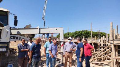 """صورة رئيس جهاز """"برج العرب الجديدة"""": استمرار أعمال توسعة ورفع كفاءة مدخل المدينة الرئيسي بطول 3.5 كم."""