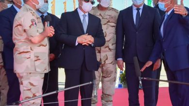 صورة الرئيس السيسى يتفقد محاور الطرق الجديدة بالاسكندرية