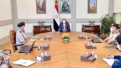 صورة الرئيس السيسى يتابع جهود ترميم وتجديد مقامات وأضرحة آل البيت