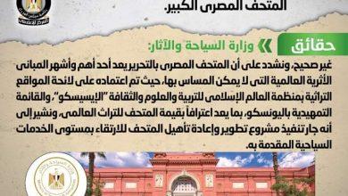 صورة الوزراء ينفى شائعة هدم المتحف المصري بالتحرير بعد افتتاح المتحف المصري الكبير