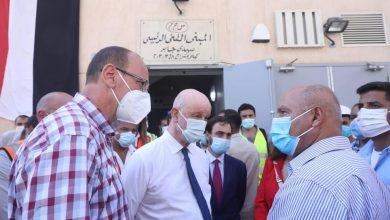 صورة وزير النقل والسفير الإسباني بالقاهرة في جولة تفقدية بمحطتي الإسكندرية وسيدي جابر