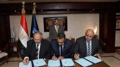 صورة الفريق أسامة ربيع يشهد توقيع اتفاقية المساهمين لتأسيس شركة مساهمة مصرية للصناعات الغذائية