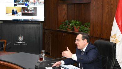 صورة وزير البترول يستعرض موقف تحصيل مستحقات مسحوبات الغاز من العملاء