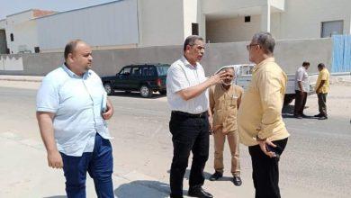 """صورة جهاز """"الصالحية الجديدة"""" يشن حملة لضبط مخالفات الصرف الصناعي بالمنشآت الصناعية بالمدينة"""