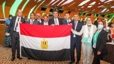 صورة فوز مصر بعضوية مجلسى الإدارة والاستثمار البريدى باتحاد البريد العالمي
