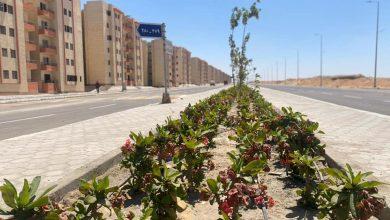 """صورة رئيس """"أكتوبر الجديدة"""" : الانتهاء من تنفيذ طريق شرق الواحة.. وتسليم قطع أراضي الإسكان المميز بشمال المطار"""