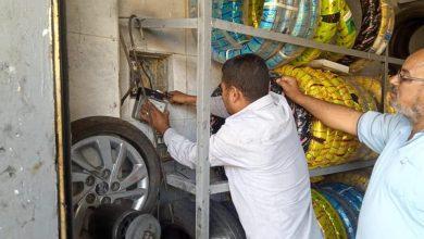 """صورة رئيس جهاز """"6 أكتوبر"""" : تنفيذ 14 قرار غلق وتشميع لأنشطة مخالفة بحملة جديدة بالحي المتميز"""