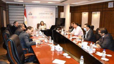 صورة وزيرة التخطيط تبحث تنفيذ تكليفات الرئيس السيسى الخاصة بتقرير التنمية البشرية في مصر 2021
