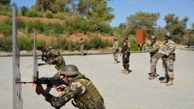 صورة إختتام فعاليات التدريب المشترك المصرى القبرصى بطليموس2021