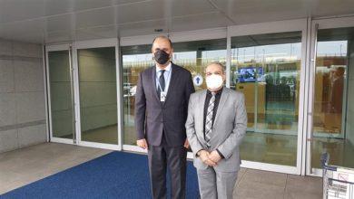 """صورة وزير الإنتاج الحربي يصل إلى كوريا الجنوبية للمشاركة بمعرض """"ADEX 2021"""" د"""