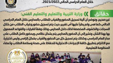 صورة الوزراء ينفى شائعة  إتاحة موقع إلكتروني لتسجيل حضور وغياب الطلاب بالمدارس خلال العام الدراسي الحالى