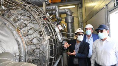 صورة وزير البترول بدء التشغيل التجريبى للمرحلة الأولى من توسعات مصفاة ميدور