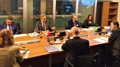 صورة انطلاق اجتماعات الجولة الاولى لمفاوضات تحرير تجارة قطاع السلع الزراعية المصنعة بين مصر ودول تجمع الآفتا بجنيف