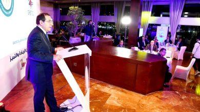 """صورة وزير البترول يحتفل بمرور ٢٥ عاما على تأسيس """"غاز تك"""": مبادرة الرئيس لتحويل السيارات للعمل بالغاز الطبيعى أحدثت طفرة"""