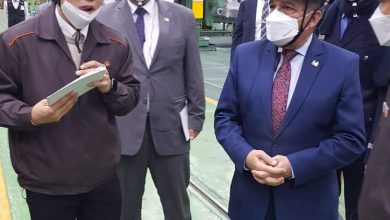 """صورة """"وزير الدولة للإنتاج الحربي"""" يعود إلى أرض الوطن بعد إنتهاء زيارته لمعرض """"ADEX 2021"""" بكوريا الجنوبية"""