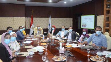 صورة مسئولو  هيئة المجتمعات العمرانية يتابعون خطط عمل وحدة المدن المستدامة والطاقة المتجددة بعد إعادة تشكيلها